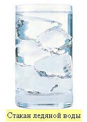 Стака ледяной воды