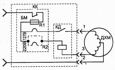 Электрическая схема реле РТК-Х