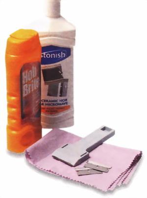 Пользуйтесь специальными средствами для чистки стеклокерамических плит