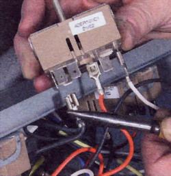 Снимите провода