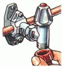 4. Подсоедините шланг