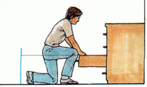Доступ к выдвижным ящикам