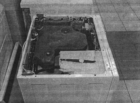 Системы управления поворотным краном лотка-контейнера в СМА с фронтальной загрузкой