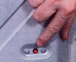 необходимо нажать кнопку «сброс»
