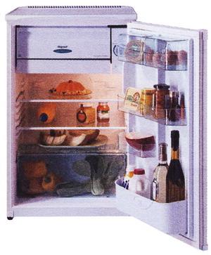 Стандартный холодильник с небольшим морозильным отделением