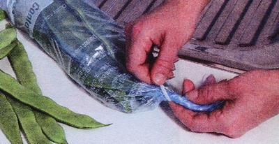 Используйте запечатанные пластиковые пакеты для заморозки