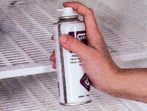Аэрозольное средство для оттаивания холодильников и морозильников
