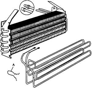 отсоединение нагревательного элемента
