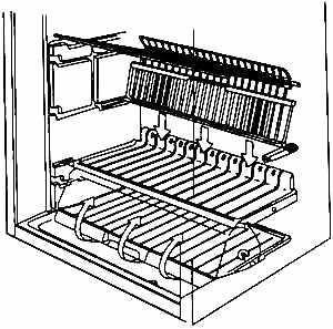 Схема циркуляции воздуха в морозильном отделении