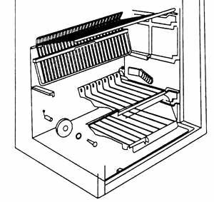 Демонтаж датчика температуры воздуха