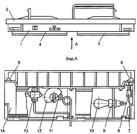 Пульт холодильника «Ока-6»