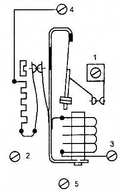Схема пускозащитного реле типа ДХР
