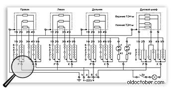 Схема конфорки, электрическая схема электроконфорки