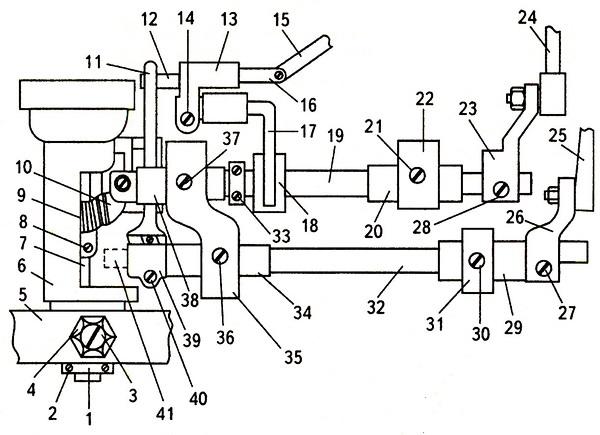Механизм, находящийся под платформой машины «Чайка»-2