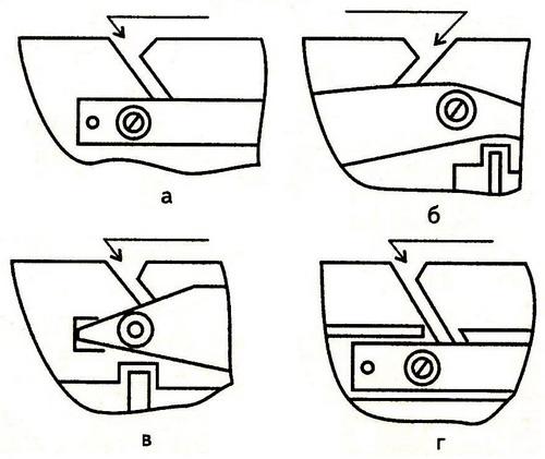Заправка нитки в шпульные колпачки разных типов