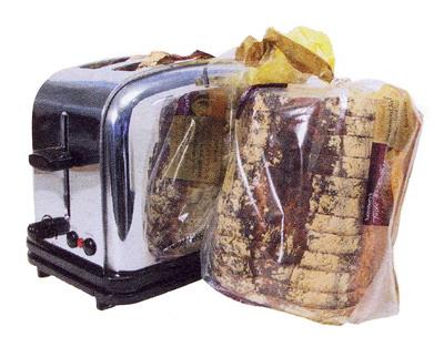 хлеба рядом с тостером