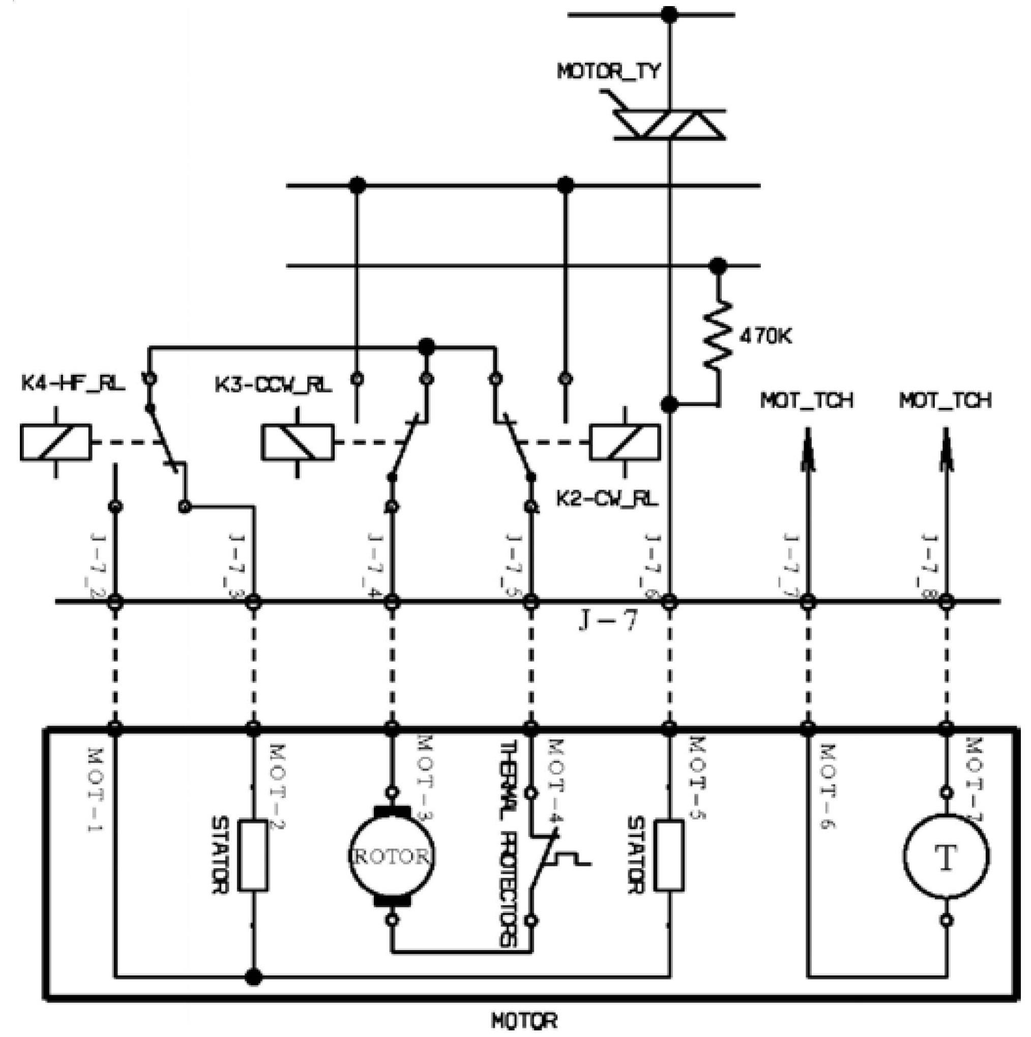 Схема колодки в аттаче.