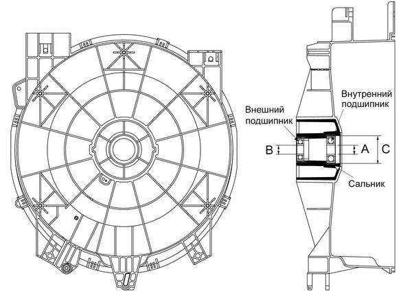 Принципиальные схемы стиральных машин автоматов самсунг электрические схемы.