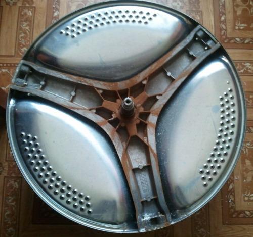 Извлеченный барабан (вид сверху)