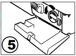 Осторожно выкрутите крышку фильтра насоса