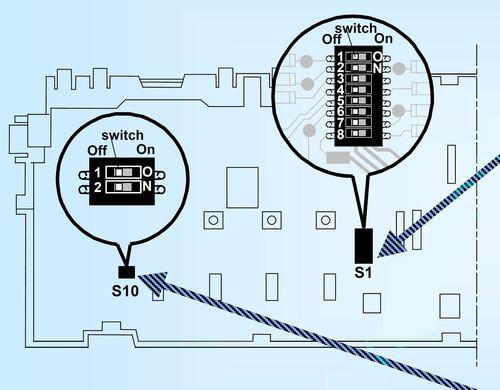 настройка модуля управления WFL 2060