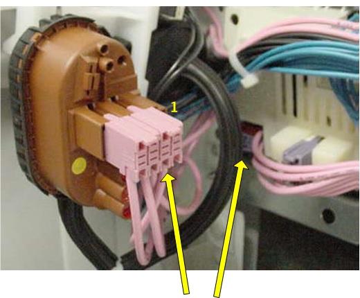 измерения между 2 разъемами для измерения сопротивления нагревателя
