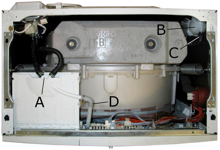 Поступление воды в стиральную машину
