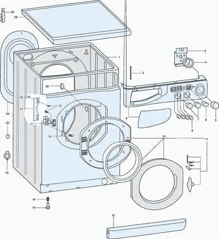 стиральных машин AL109X и