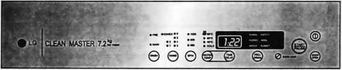 Панель управления стиральной машиной WD-1020W Cleanmaster