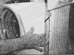 Демонтаж передней панели