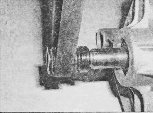 Правильное положение ремня на валу электродвигателя