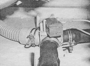 Демонтаж распределительного клапана системы Jet System