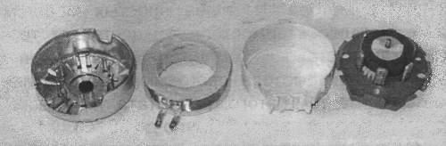 Устройство синхромотора