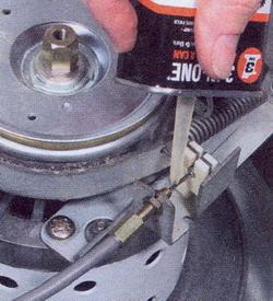 Как смазать тросики
