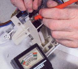 проверить работу выключателя