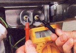 Проверьте нагревательный элемент